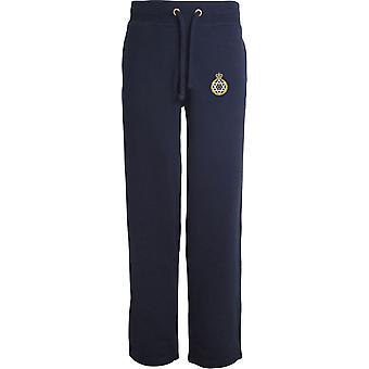 Royal Army Chaplains Department - jüdisch - lizenzierte britische Armee bestickt offenen Hem Sweatpants / Jogging Bottoms