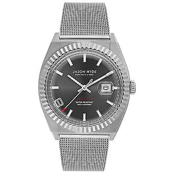Jason hyde i have a date watch for Women Analog Quartz with JH30004 Stainless Steel Bracelet