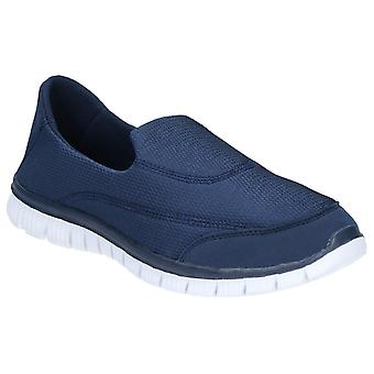 Caravelle Mens Orlando Sporty Comfort Slip On Shoe Navy