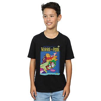 Disney Jungen Winnie der Pooh Poster T-Shirt