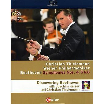 L.V. Beethoven - Symphonies Nos. 4/5/6 [BLU-RAY] USA import