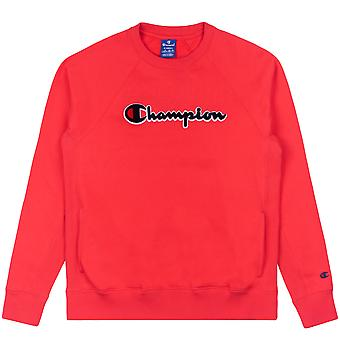Champion sudadera femenina con el cuello redondo 111966