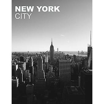 New York City Poster Empire State Building Wall Art Print (18x24)