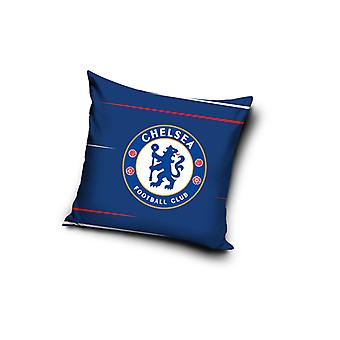 Chelsea FC Blue Square Filled Cushion