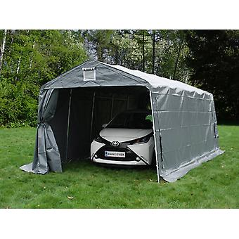 Carpa garaje PRO 3,3x6x2,4m PVC, Gris
