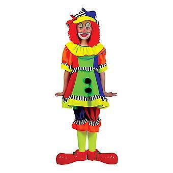 Joyeux Colorful Clown Dress Kids Costume Girl Carnival Circus Spanky Stripes Costume Kids