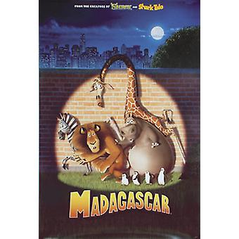 Madagascar (Single Sided Advance Reprint) Reprint Poster