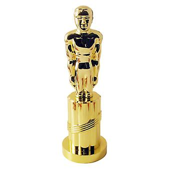 Πλαστικό άγαλμα, χρυσό φανταχτερό φόρεμα αξεσουάρ
