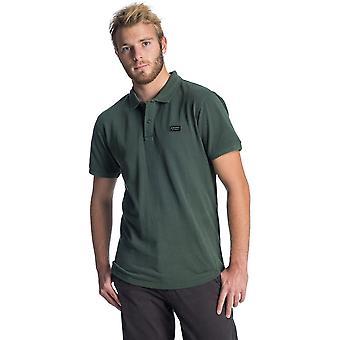 Rip Curl verschoten Polo shirt in Dark Forest