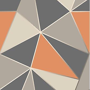 Apex geometrische Tapete feines Dekor