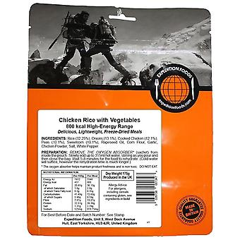Expedition Foods Black Chicken Rice With Vegetables