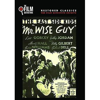 Mr Wise Guy [DVD] USA import