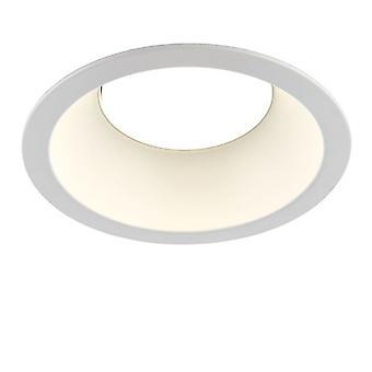 Saxby Lighting Amphi integrerad LED infälld ljus Matt vit 78544