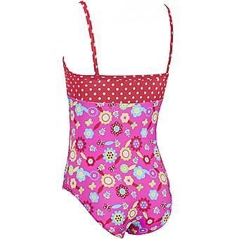 Zoggs Girls Flora Classicback Swim Swim Zwemkleding Badpak VakantieKostuum - 1 jaar