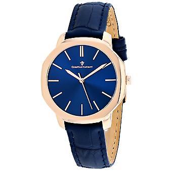 Christian Van Sant Women's Octave Slim Blue Dial Watch - CV0505