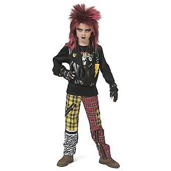 Punker Boy puku 80s Rockstar paha poika pojat puku