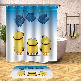 Pants Drying Minions Shower Curtain