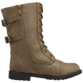 Journee Collection Womens Kendel Closed Toe Mid-Calf Fashion Boots