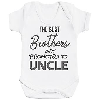 The Best Brothers Get Promoted To Uncle Baby Bodysuit