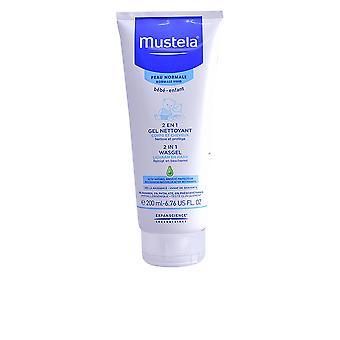 Mustela Bébé 2 In 1 haar & Body Wash 200 Ml Unisex
