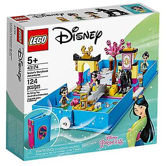LEGO 43174 Disney Princess Mulan ' s historiebog Adventures