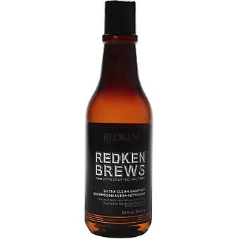 Redken Brews Extra-Purifying Shampoo for Normal and Coarse Hair 300 ml