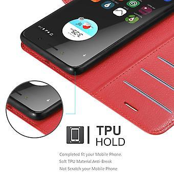 ZTEブレードA520ケースカバー用カドラボケース - 磁気留め金付き携帯電話ケース、スタンド機能とカードコンパートメント - ケースカバー保護ケースブック折りたたみスタイル