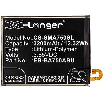 X-Longer Ersatzakku Akku Batterie für Samsung Galaxy A7 2018 ersetzt EB-BA750ABU Battery