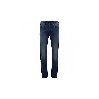 Hugo Boss Taber Bc-p Sueño Tapered Fit Dark Blue Jeans