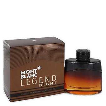 Montblanc legend Night by Mont Blanc Eau de Parfum Spray 1,7 oz (män) V728-545130