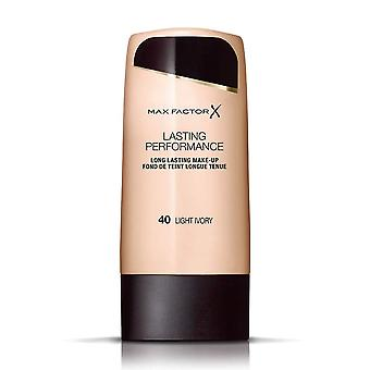 Max Factor 3 X Max Factor Lasting Performance Foundation - Light Ivory 40