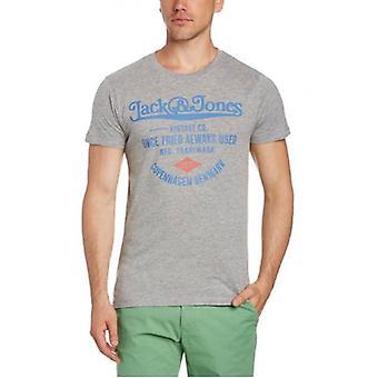 Jack & Jones Vintage T-shirt CPH Tee Light Grey Melange