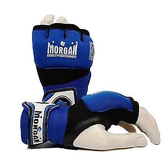 Morgan Gel Injected Hand Wraps Blue