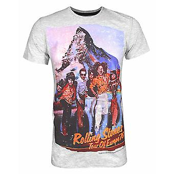 Amplified Rolling Stones Tour '76 Men's T-Shirt