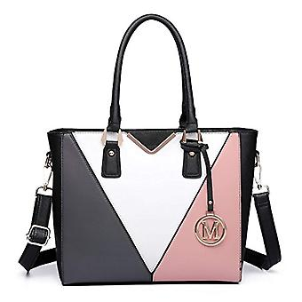 Miss Lulu New Fashion Stylish Leather Bag PU Women's Bags at Women's Bag by Patchwork Design