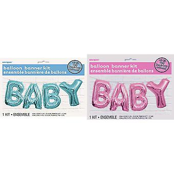 Unieke Party 14 in Baby folie ballon Banner Kit