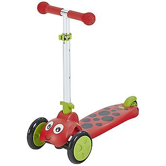 Mookie Toys Scootiebug Ladybird Scooter Red Ages 2-5 Years