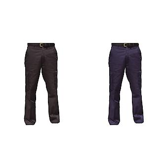 Warrior Mens Cargo Workwear Trousers