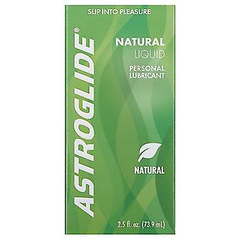 Astroglide natural personal lubricant, 2.5 oz