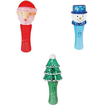 Christmas Shop lyser LED Spinner Wand