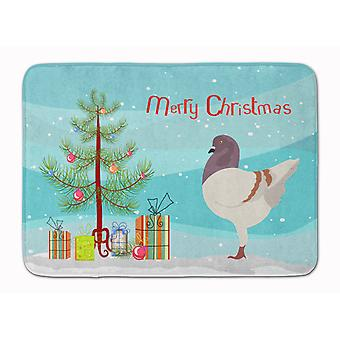 German Modena Pigeon Christmas Machine Washable Memory Foam Mat
