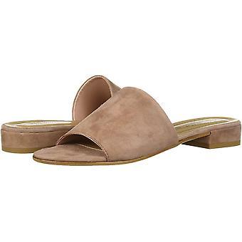 Bella Vita Women's TES-Italy Slide Sandal Shoe, Blush Italian Suede Leather, ...