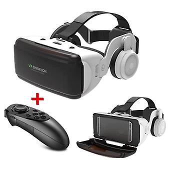 VR Shinecon VR Virtual Reality 3D Glasses 90 ° With Bluetooth Remote Control for Smartphones