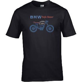 BMW Café Racer Classic - Motorcykel Motorcykel Biker - DTG Tryckt T-shirt