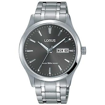 Lorus Mens Stainless Steel Bracelet Grey Dial RXN35DX9 Watch