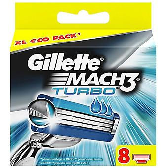 Gillette Spare Parts for Mach3 Turbo 8 units