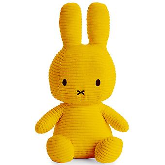 Miffy Large Bunny Corduroy Soft Toy, Yellow