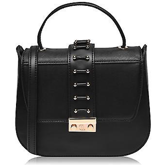 Jennifer Lopez Womens Saddle Shoulder Strap Bag Handbag Tote