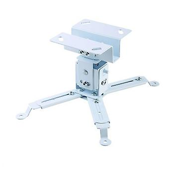 Tilt and Swivel Ceiling Mount for Projectors iggual STP01 IGG314708 -22,5 - 22,5° -15 - 15° Iron White