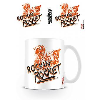 Guardians Of The Galaxy Rockin Rocket Mug